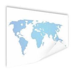 Moderne wereldkaarten