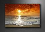 Strand - Canvas Schilderij 80 x 60 cm