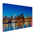 Skyline New York by night - Canvas
