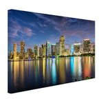 Skyline Miami - Canvas