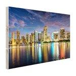 Skyline Miami - Hout