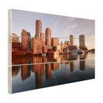 Skyline Boston - Hout
