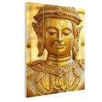 Gouden Boeddha in Chiang Mai Thailand - Hout