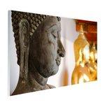 Boeddhahoofd in Wat Pho tempel Bangkok - Plexiglas