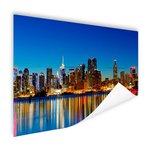 Skyline New York by night - Poster