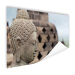 Boeddha standbeeld in Borobudur tempel - Poster