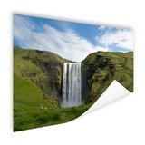Skogafoss waterval in IJsland - Poster_