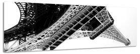 Eiffeltoren - Canvas Schilderij Panorama 118 x 36 cm