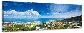 Kaapstad - Canvas Schilderij Panorama 158 x 46 cm