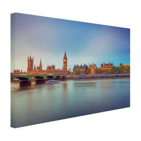 Skyline Londen - Canvas