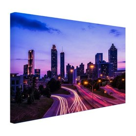 Atlanta skyline - Canvas
