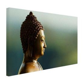 Boeddha beeld fotoprint - Canvas