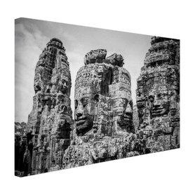 Bayon Tempel met Buddhas - Canvas