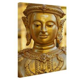 Gouden Boeddha in Chiang Mai Thailand - Canvas