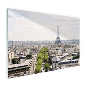 Parijs Skyline - Plexiglas
