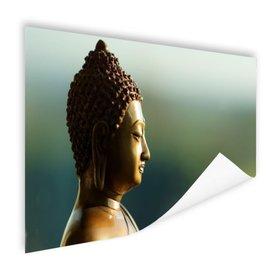 Boeddha beeld fotoprint - Poster