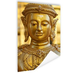 Gouden Boeddha in Chiang Mai Thailand - Poster