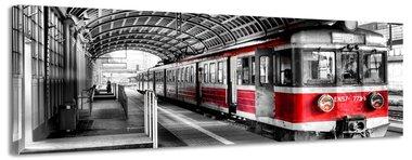 EN57 - Canvas Schilderij Panorama 118 x 36 cm