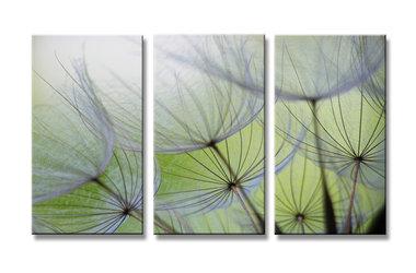 Bloemen - Canvas Schilderij Drieluik 160 x 90 cm
