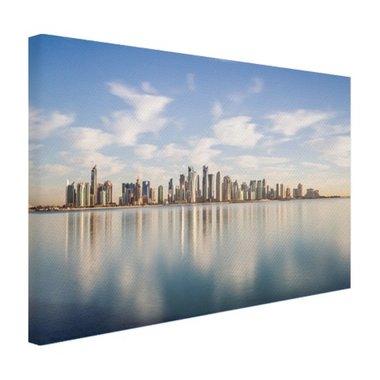 Skyline Doha - Canvas