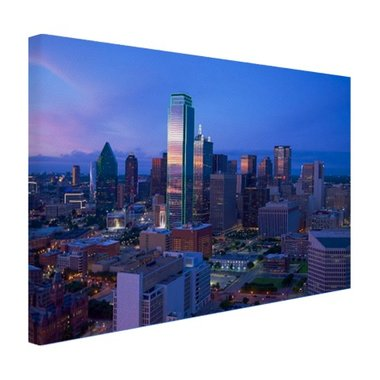 Skyline Dallas - Canvas