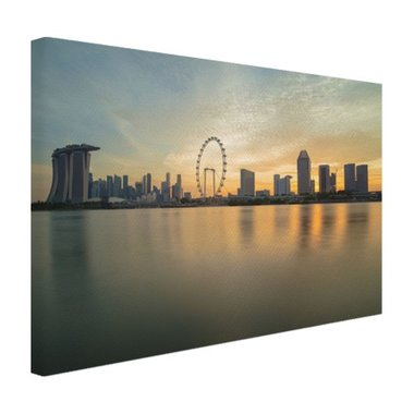 Skyline Singapore - Canvas
