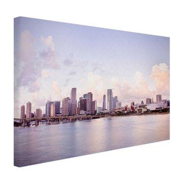 Miami skyline - Canvas