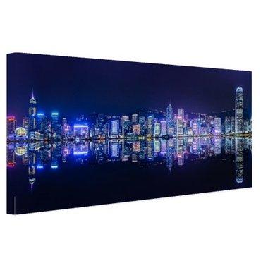 Hong Kong skyline - Canvas