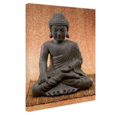 Hindoe Boedha standbeeld - Canvas