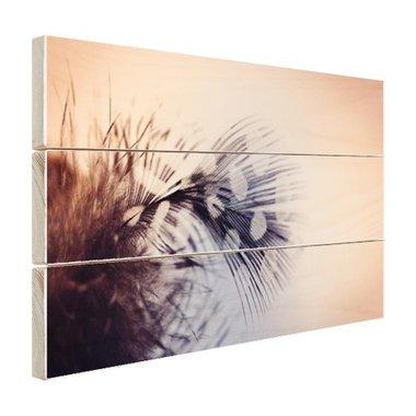 Veer fotoprint - Hout