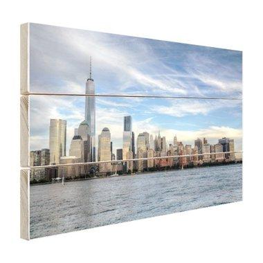 Skyline New York - Hout