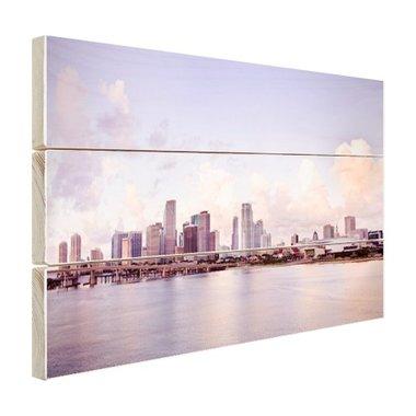 Miami skyline - Hout
