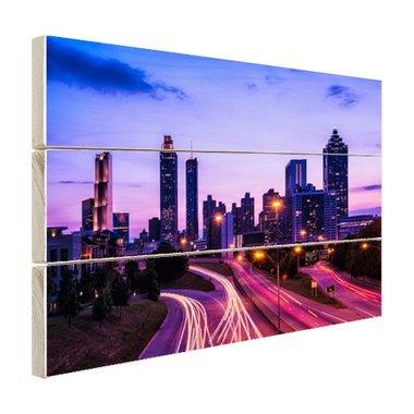 Atlanta skyline - Hout