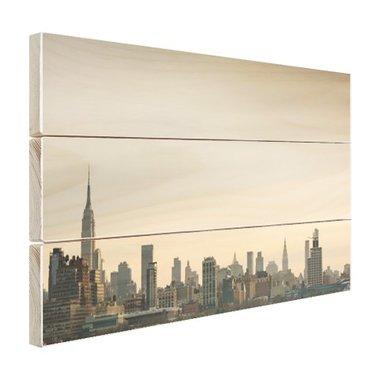 Skyline Manhattan - Hout