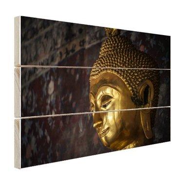 Gouden Boeddha standbeeld Thailand - Hout
