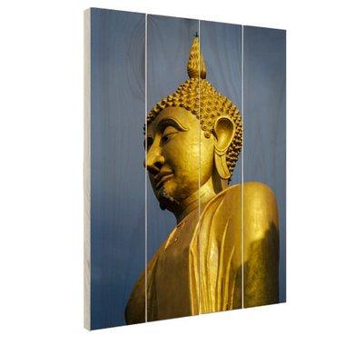Reuze Boeddha Chiang Mai - Hout