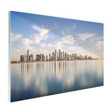 Skyline Doha - Plexiglas