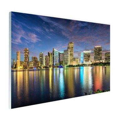 Skyline Miami - Plexiglas