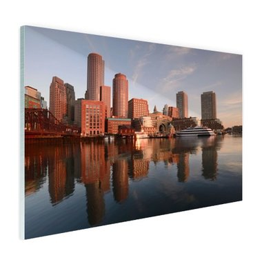 Skyline Boston - Plexiglas