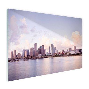 Miami skyline - Plexiglas
