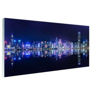 Hong Kong skyline - Plexiglas