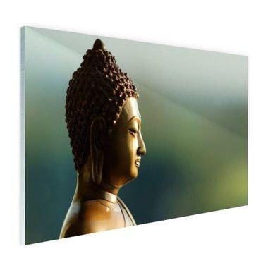 Boeddha beeld fotoprint - Plexiglas
