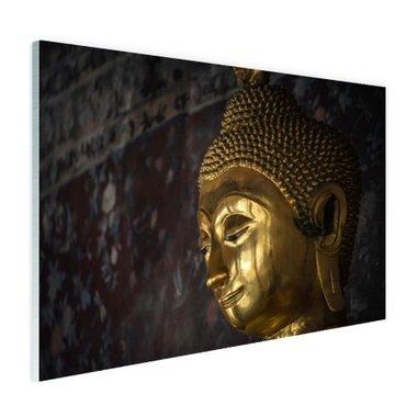 Gouden Boeddha standbeeld Thailand - Plexiglas
