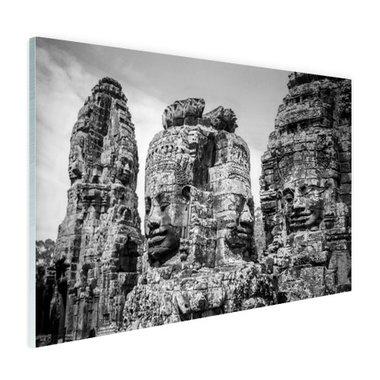 Bayon Tempel met Buddhas - Plexiglas