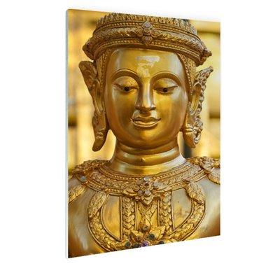 Gouden Boeddha in Chiang Mai Thailand - Plexiglas