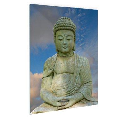 Stenen Boeddha - Plexiglas