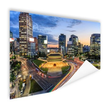 Oude poort Seoul - Poster