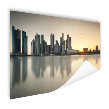 Singapore skyline - Poster