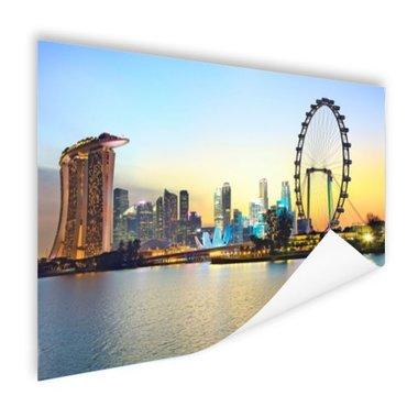Singapore Blue Hour - Poster
