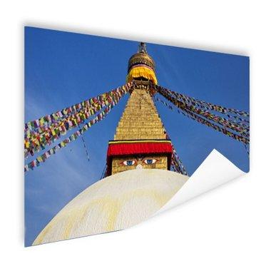 Stoepa in Kathmandu Nepal - Poster